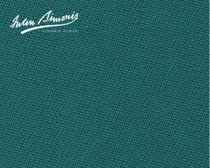 Simonis 300 Rapide Carom Billiard Cloth or Billiard Felt- Blue Green