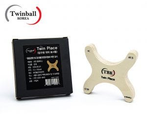 Positionneur de billes Twinball