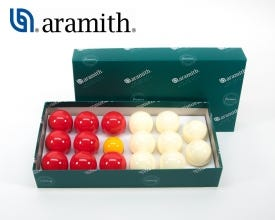 Aramith Petanque Billiard Balls Set - 48 mm / 2 Players