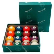 Bộ bi Aramith Continental 57,2 mm - US Pool Billiard Balls