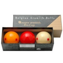 Aramith Pro-Cup 61,5 mm Carom Billiard Balls