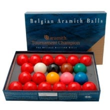 Bộ bi Aramith Tournament Champion 52,4 mm - Set Snooker Ballen