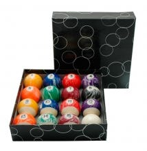 Bộ bi Marble Set Balls 57,2 mm - US Pool Billiard Balls