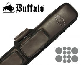 Buffalo De Luxe Soft Billiard Cue Bag 4x8 - Brown