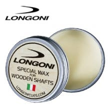 Longoni Wax for Billiard Cue / Wooden Shafts