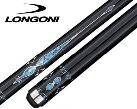 Longoni Custom Pro Black Pearl Carom Billiard Cue by Jean Reverchon