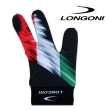 Billard Handschuh Longoni - Italien Flagge