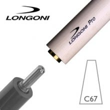 Longoni PRO C67 Billiard Shaft Libre/Cadre VP2 Joint
