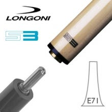 Longoni S3 E71 VP2 3-Cushion Billiard Cue Shaft