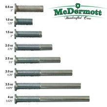 1/2 inch Weight Bolt for Mc Dermott Billiard Cues