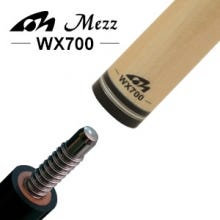 Mezz WX700 Pool Cue Shaft - Wavy Joint
