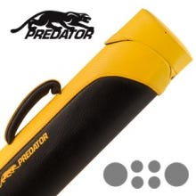 Predator Sport CSP2x4Y Hard Pool Cue Case - Yellow