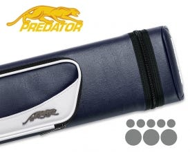 Predator Roadline 3x5 Hard Cue Case - Blue/White
