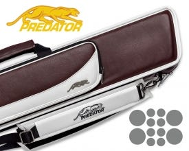 Predator Roadline 4x8 Soft Cue Case - Burgundy/White