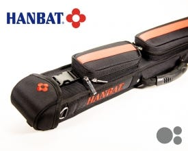 Hanbat HB-12 Rot Billard Queue Tasche - 1x2