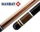 Hanbat K55 Karambol & Dreiband Billard Queue - Rot/Gelb