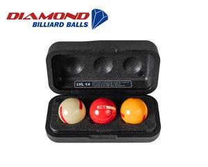 Diamond Helix PBA set 61,5mm Carom Billiard Balls