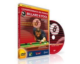 DVD - French Championships 8 Pool - Roanne 2005
