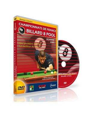DVD French Championships 8 Pool - Roanne 2005