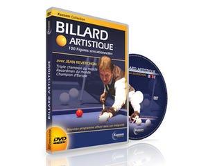 DVD Biljart Artisitek - Jean Reverchon