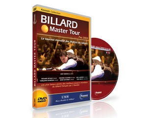 DVD Billiard Master Tour Pau 2003 - Frans