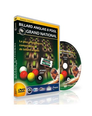 DVD Grand National 8 Pool - Rennes 2004