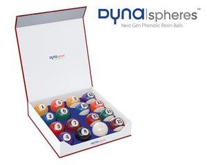 Pool Billiard Balls Dynaspheres Silver 572