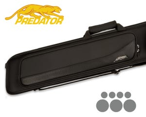 Predator Sport 3x4 Soft Billiard Cue Case - Black