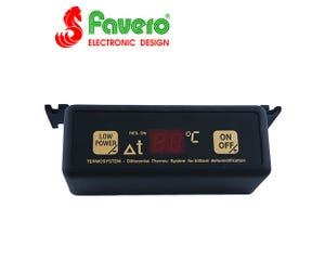 Favero Biliard Heater Digital Thermostat