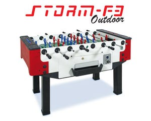 Storm F3 Coin Outdoor Foosball / Table Soccer