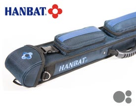 Hanbat HB-12 Blau Billard Queue Tasche  - 1x2