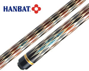 Hanbat Plus Maestro Black and Red Carom Billiard Cue