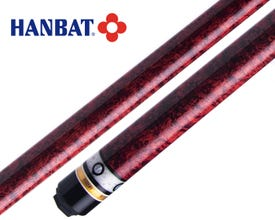 Queue de billard français Hanbat Plus-6 Rouge