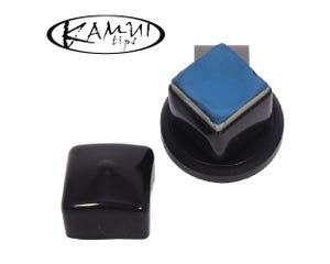 Kamui Chalk Shark Schwartz - Magnetische Billard Kreidehalter