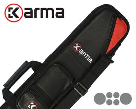 Karma Bara 2x4 Soft Cue Case - Black/Red