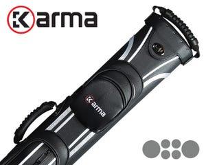 Karma Silver Sport Cue Case - 2x4
