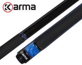 Queue de billard Karma Satika Bleue - Grip K2
