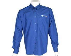 Kozoom Blue Billiard Dress Shirt