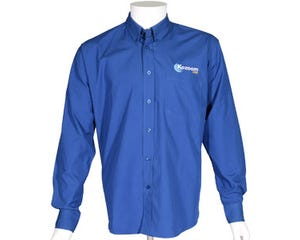 Kozoom biljart overhemd royal blauw