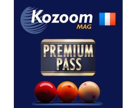 Pass Premium pour Magazine Kozoom Carambole en Français