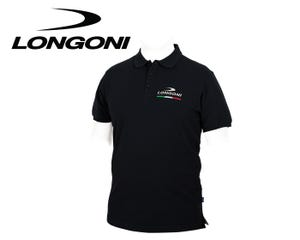 Longoni Black Polo Shirt