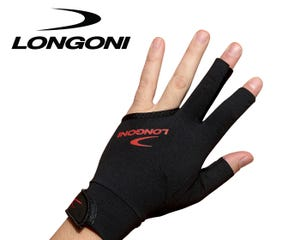Longoni Black Fire 2.0 Billiard Glove