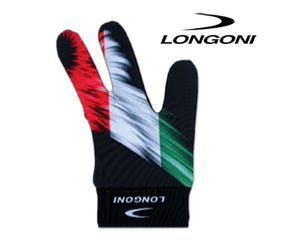 Longoni Italian Flag Billiard Glove