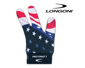 Longoni USA Flag Billiard Glove