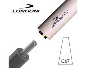 Longoni PRO C67 Billiard Shaft Libre/Cadre VP2 Joint