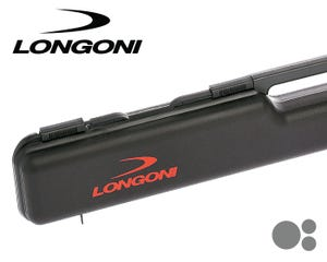 Longoni Black Shuttle 1x2 Cue Case