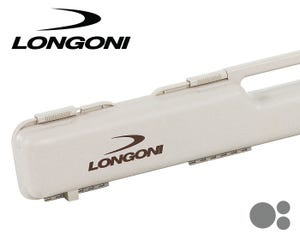 Longoni Cream Shuttle 1x2 Cue Case