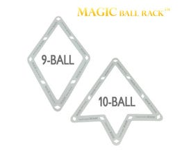 Magic Rack Pro 9-Ball and 10-Ball Billiard Balls Rack