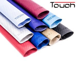 Manguito texturado Touch Carbon