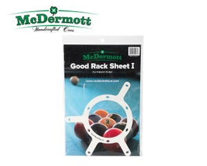 McDermott Good Rack Sheet 9 & 10-Ball Triangel